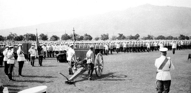 Предполагаемите военни действия през 1908 г.