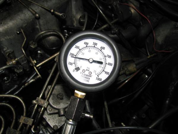 Компресия на двигател