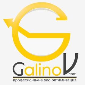 Galinov.com и логото на сайта за сео