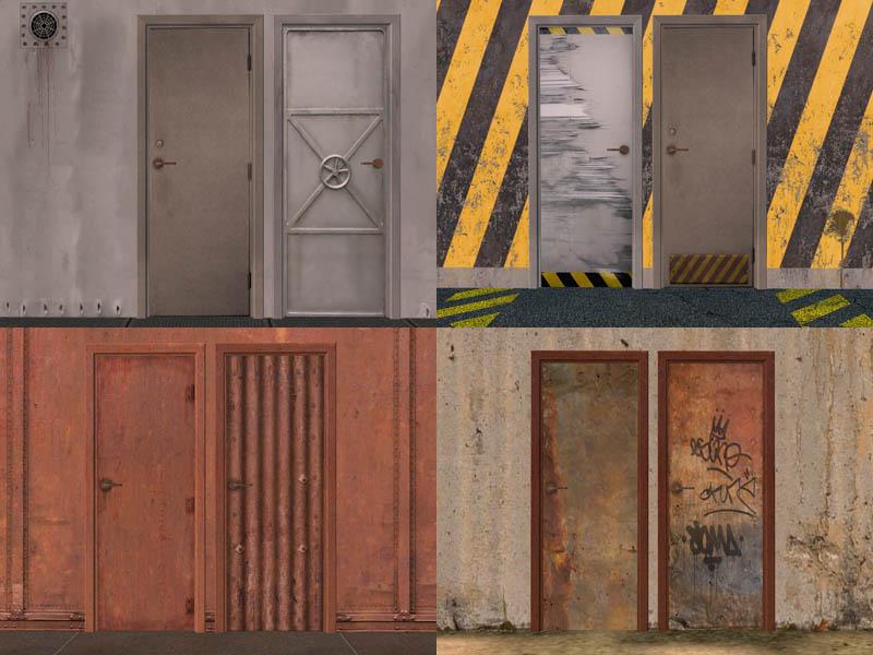 Сигурност с метална входна врата