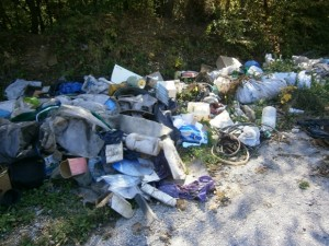 Боклук в София